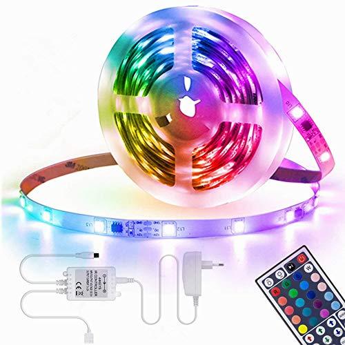 LED Strip Lights164ft Led Light StripLed Color Changing Lights with RemoteMood Lighting for Bedroom Gaming DeskGaming ChairRoom Decoration SMD 5050 Strip Lights