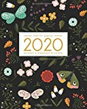 2020 Planner Weekly and Monthly: January to December: Botanical Cover (2020 Pretty Simple Planners)