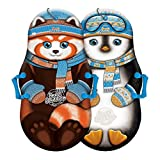 """Sno-Storm 36in Foam Winter Kiddy Snow Sled 2-Pack, Mix, 36"""" (1368772)"""