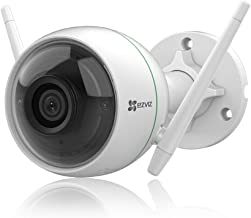 EZVIZ 防犯カメラ アレクサ対応 ワイヤレス 屋外 265万画素 強力Wi-Fi スマホ/PC対応 ノイズキャンセリング機能 マイク内蔵 防塵防水 屋内 監視カメラ 見守りカメラ ネットワークカメラ 日本語説明書 SDカード無 C3WN
