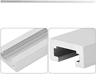T Slot Slide Slab, Aluminiumlegering Slitstarkt Träbearbetningsverktyg T-Track Slot Miter, för Bandsågar Routers (1m T Slot)
