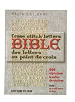 Saxe 「BIBLE DES LETTRES EDITIONS DE SAXE」 クロスステッチ図案集-フランス語