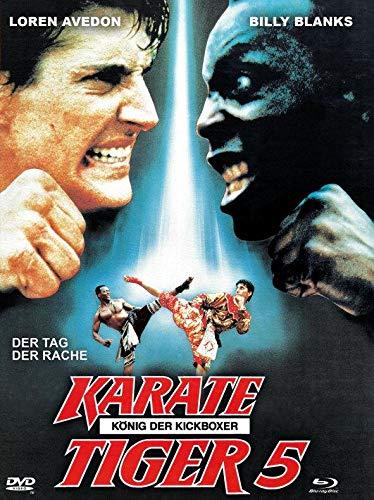 Karate Tiger 5 - König der Kickboxer - Mediabook - Limitiert / Cover A (+ DVD) [Blu-ray]