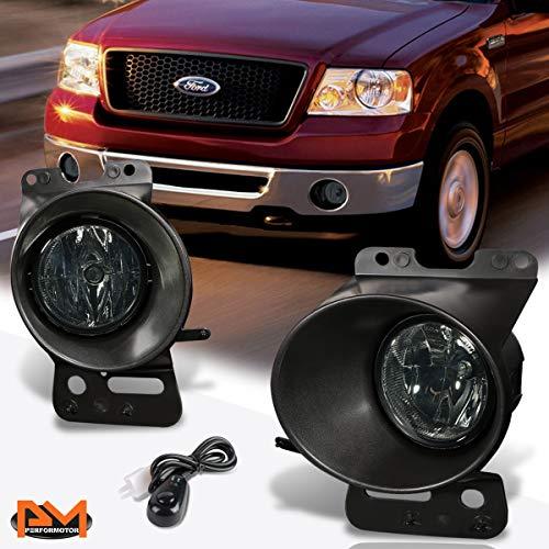 For Ford F-150/Lincoln Mark LT 06-08 Smoked Lens Fog Light/Lamp W/Switch+Bezel