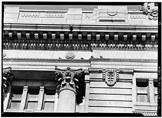 HistoricalFindings Photo: Hudson County Courthouse,583 Newark Avenue,Jersey City,New Jersey,NJ,HABS,10