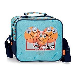 Neceser Enso Basket Family con Bandolera, Azul, 23x20x9 cm