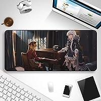 Slolita 二次元大判マウスパッド Girls' Frontline ドールズフロントライン Kar98k 德皇 PC パソコン 周辺機器 コンピューター デスクマット 滑り止めキーボードパッド かわいい ファッション 萌え (900 * 400 * 5mm)