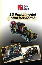 3D Paper model Munster Koach: Guide to assembling a paper model