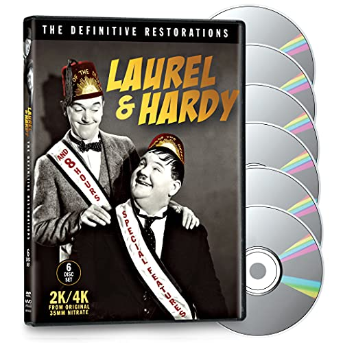Laurel and Hardy 6-DVD Set