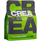 Cápsulas de creatina - para atletas que realizan levantamiento de pesas (aumento masa muscular). 120 creatina capsulas veganas de TOOSHAPED