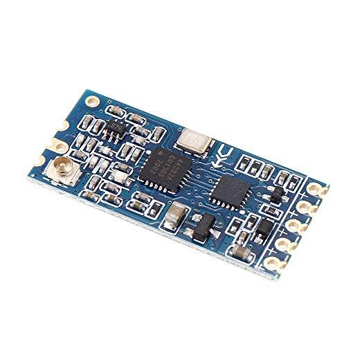 DIBAO 3 unidades HC-12 433MHz SI4438 módulo serial inalámbrico transceptor transmisión secuente comunicación tarjeta de datos distancia 1000 m