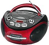AEG SR 4353 Stereo-Kassetten-Radio mit CD/MP3, Toploading-CD-Player, Kassettendeck und Radio -