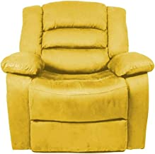 Regal In House Classic Recliner Chair with Controllable Back - Yellow Nice02
