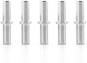 JUN-H 60pcs /étag/ère Broches Piquets de Support D/étag/ère en Forme de Cuill/ère 5mm et 7mm Acier Inoxydable Supports Pour Armoire /à Meubles Support de Bureau Accessoires