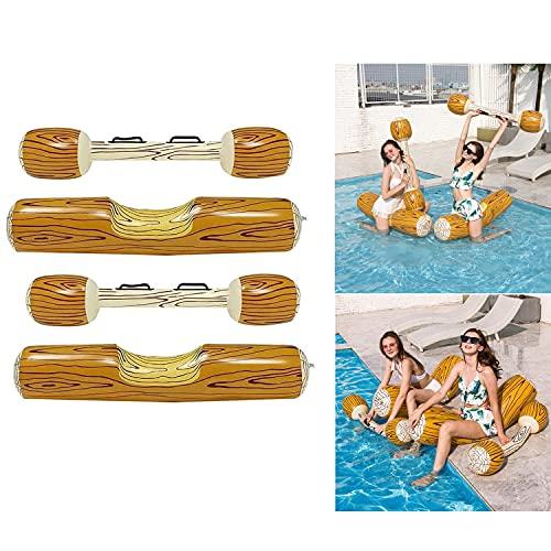 ZXNQ 2 Piezas Alfombra Flotante, Juguetes de Flotador de Piscina Inflable,para Piscina para Verano, Fiesta en la Piscina, Deporte Acuático