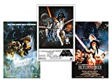Close Up Star Wars Posterset Filmplakat Episode 4-6 US Size