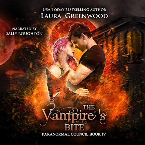 The Vampire's Bite Laura Greenwood Audio Sally Roughton