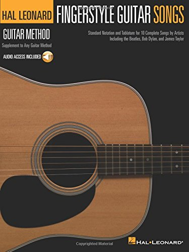 Hal Leonard Guitar Method: Fingerstyle Guitar Songs: Grifftabelle für Gitarre (Hal Leonard Guitar Method (Songbooks))