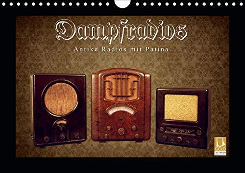 Dampfradios - Antike Radios mit Patina (Wandkalender 2021 DIN A4 quer)