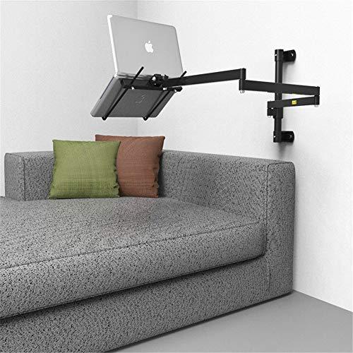 Kan plat op de muur van de laptop liggen, de hefbeugel op het bed vouwen, de universele zwenkarm aanpassen