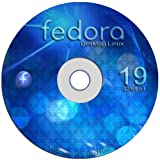 """Fedora Linux 19 """"Schrodinger s Cat"""" - Both 32-bit and 64-bit Versions on One DVD"""