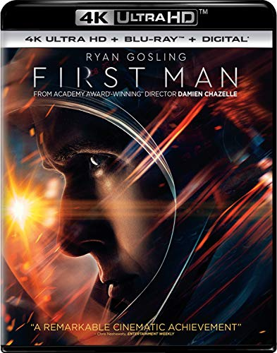 First Man [Blu-ray] Now $11.99 (Was $22.98)
