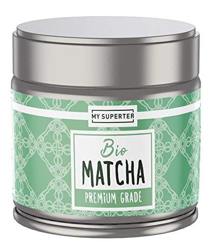 Bio Matcha Pulver - Premium Grade I Milder Bio Matcha Tee aus Japan I 30 Gramm Premium Bio Matcha by MY SUPERTEA