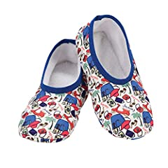 PORTABLE SLIPPERS - These womens slippers are lightweight, soft, and comfortable for traveling. COMFORTABLE SLIPPERS - These womens slippers are perfect for relaxing after a long day or traveling LIGHTWEIGHT WOMENS SLIPPERS - These Snoozies Skinnies ...