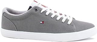 Tommy Hilfiger ESSENTIAL LONG LACE SNEAKER, Men's Shoes, GREY, 40 EU