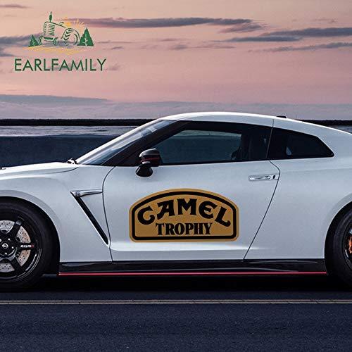 BLOUR EARLFAMILY 43cm x 22.2cm Persönlichkeit Karosserie Aufkleber für Camel Trophy Vinyl Lustiges Auto Styling Aufkleber JDM Wasserdichter Aufkleber
