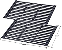 Porcelain Enamel Grids 7523 for Weber Genesis Silver A and Spirit 500 Gas Grills (Dims: 14 3/4 x 11 1/4