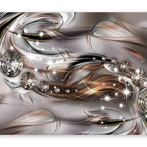 murando Papier peint intissé 250x175 cm Décoration Murale XXL Poster Tableaux Muraux Tapisserie Photo Trompe l'oeil abstraction Diamant a-A-0168-a-c