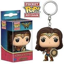 Funko-13346 Movie Pocket Keychain: Wonder Woman (13346)