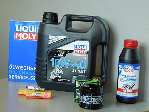 Kit de mantenimiento Suzuki AN 650 Burgman aceite filtro bujía cambio de aceite inspección