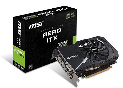 MSI GTX1060 Aero ITX 6GB GPU