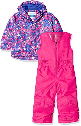 Columbia Kinder Buga Set, rosa (Punch Pink Floral Camo), 3T