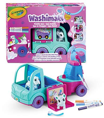Washimals - SPA Camión con 2 Mascotas - CRAYOLA
