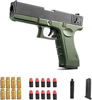 M1911 Shell Ejection Soft Bullet Toy,Toy Pistol,Cool Toys 1911 Toy Soft Ejecting Magazine,Toy with Magazine Ejection, 1911...