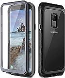 Prologfer Coque Samsung Galaxy S9 Protection Robuste 360 degrés Protection Protecteur d'écran...