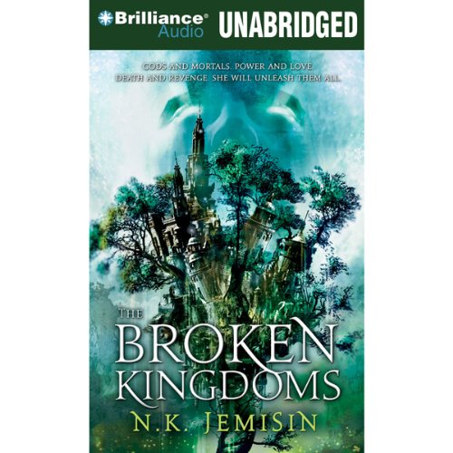 The Broken Kingdoms audiobook cover art