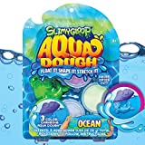 Aqua Dough Underwater Shark by Horizon Group USA, Create Your Own Water Toys That Stretch, Mold, Float & Change Colors, Water-Resistant Buttery Slime That Never Dries Out, Sensory Water Toys (205518)