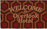 Pyramid Felpudo Welcome To Overlook Hotel Doormat The Shining Official Merchandising Referencia DD Textiles del hogar Unisex Adulto, Multicolor (Multicolor), única