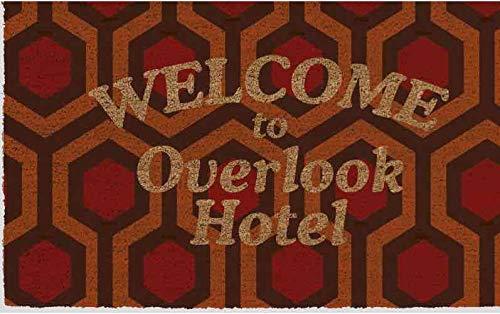 Piramid - Zerbino Welcome To Overlook Hotel Doormat The Shining Ufficiale Merchandising Riferimento DD Tessili per la casa Unisex Adulto, Multicolore (Multicolore), Unico