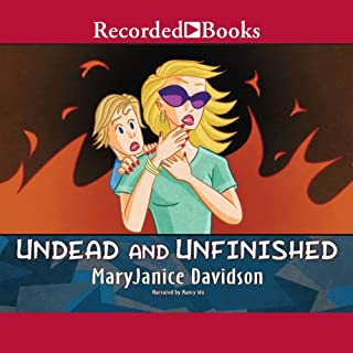 Undead and Unfinished audiobook cover art