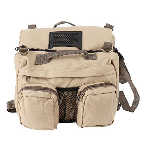 FAMKIT Adjustable Dog Saddle Bag Backpack, Hound Travel Saddle Bag Packs Hiking Walking Camping for Small & Medium & Large & Extra Large Dogs
