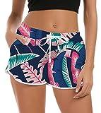 NEWISTAR Maillot de Bain pour Femme Pantalon de Yoga d'Été Shorty Sport Shorts de Plage