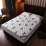 mattress WANGTX Colchón de futón, colchón Plegable portátil, colchón Doble Individual, Adecuado para el hogar, Dormitorio de Estudiantes, colchón de Camping para Invitados/A / 1.5×2m