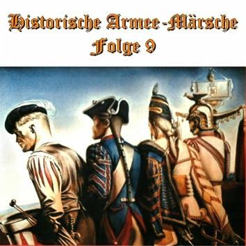 Historische Armee-Märsche Folge 9