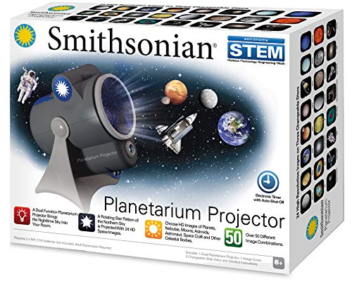 Smithsonian Optics Room Planetarium and Dual Projector Science Kit