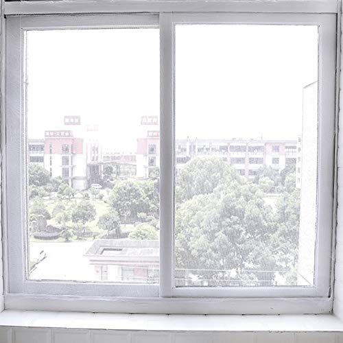 Esshangmao. HZZ-Fly Bug Moskitonetz-Tür-Fenster-Netz Netting Maschensieb-Vorhang-Schutz Flyscreen Insect DIY, Größe: 2x1.5cm (Color : White)
